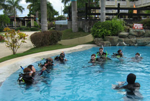 PADI Instructor Exam IE Confined Water