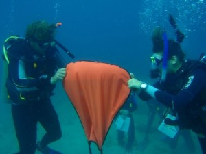 PADI IDC - Liftbag use
