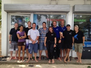 The TSD PADI IDC Team
