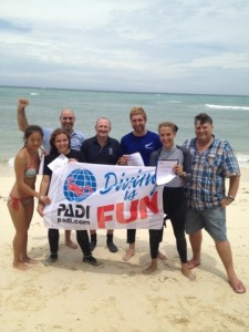 Congratulations to the new PADI Instructors!
