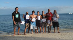 Another successful PADI Instructor Exam!