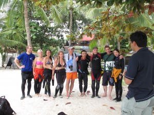 Successful PADI IDC