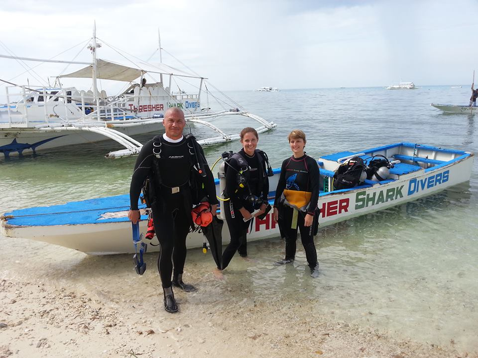 PADI IDC on Malapascua