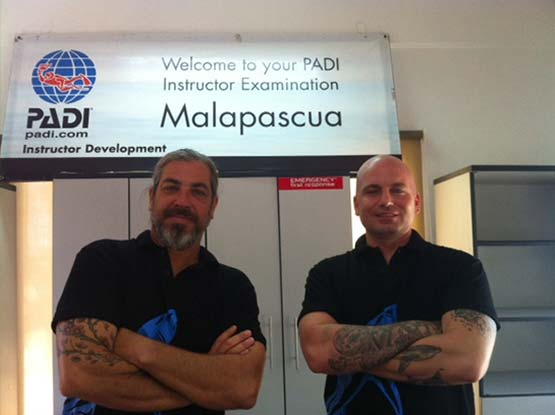 Attending a PADI Instructor Exam (IE) - Thresher